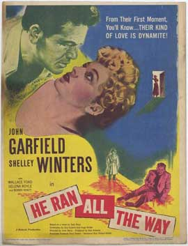 He Ran all the Way - 27 x 40 Movie Poster - Style A