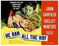 He Ran all the Way - 11 x 17 Movie Poster - Style B