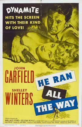 He Ran all the Way - 27 x 40 Movie Poster - Style C