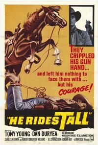 He Rides Tall - 27 x 40 Movie Poster - Style A