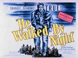 He Walked by Night - 11 x 14 Movie Poster - Style A