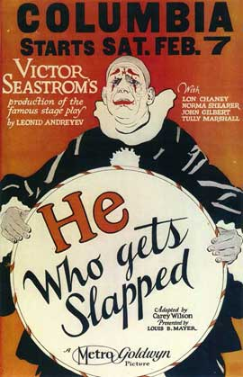 He Who Gets Slapped - 11 x 17 Movie Poster - Style A