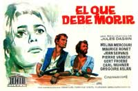 He Who Must Die - 11 x 17 Movie Poster - Spanish Style A