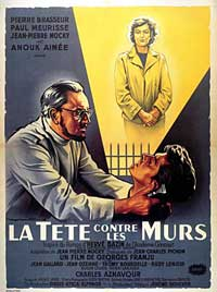 Head Against the Wall - 11 x 17 Movie Poster - French Style A