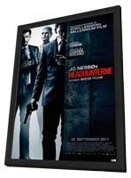 Headhunters - 27 x 40 Movie Poster - Norwegian Style B - in Deluxe Wood Frame