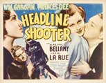 Headline Shooter - 11 x 14 Movie Poster - Style A
