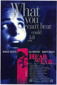 Hear No Evil - 27 x 40 Movie Poster - Style A