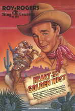 Heart of the Golden West - 11 x 17 Movie Poster - Style A
