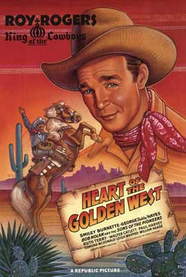 Heart of the Golden West - 27 x 40 Movie Poster - Style A