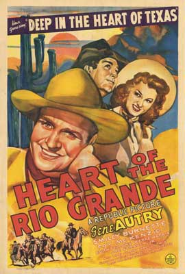 Heart of the Rio Grande - 27 x 40 Movie Poster - Style A