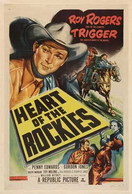 Heart of the Rockies - 11 x 17 Movie Poster - Style A