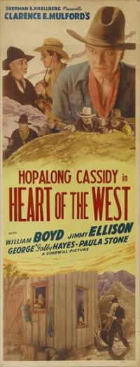 Heart of the West - 14 x 36 Movie Poster - Insert Style A