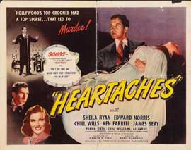 Heartaches - 22 x 28 Movie Poster - Half Sheet Style A