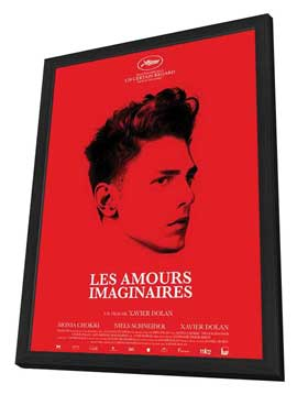 Heartbeats - 11 x 17 Movie Poster - French Style A - in Deluxe Wood Frame