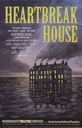 Heartbreak House (Broadway) - 11 x 17 Poster - Style A
