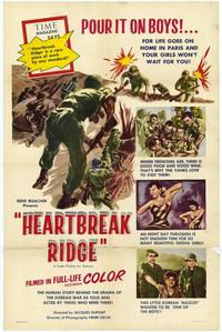 Heartbreak Ridge - 27 x 40 Movie Poster - Style A