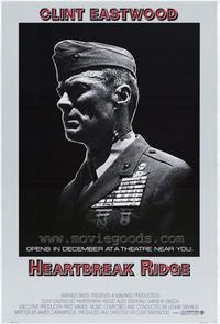Heartbreak Ridge - 43 x 62 Movie Poster - Bus Shelter Style A