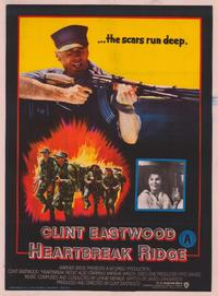 Heartbreak Ridge - 43 x 62 Poster - Foreign - Bus Shelter Style A