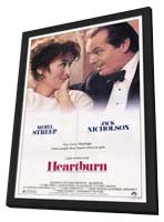 Heartburn - 11 x 17 Movie Poster - Style A - in Deluxe Wood Frame