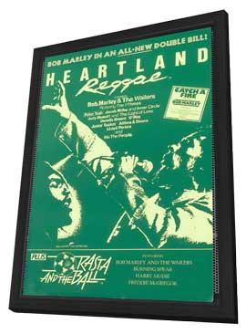 Heartland Reggae - 11 x 17 Movie Poster - Style A - in Deluxe Wood Frame