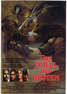 Hearts and Armour - 11 x 17 Movie Poster - German Style A