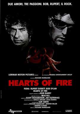 Hearts of Fire - 11 x 17 Movie Poster - Italian Style A