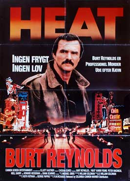 Heat - 11 x 17 Movie Poster - Danish Style A