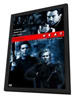 Heat - 11 x 17 Movie Poster - Style F - in Deluxe Wood Frame