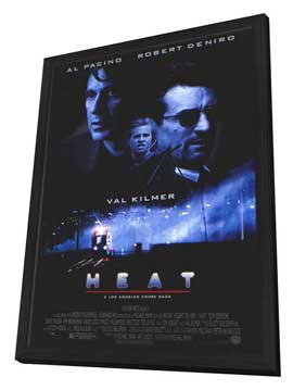 Heat - 11 x 17 Movie Poster - Style B - in Deluxe Wood Frame