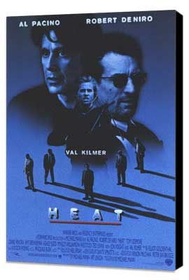 Heat - 11 x 17 Movie Poster - Style A - Museum Wrapped Canvas