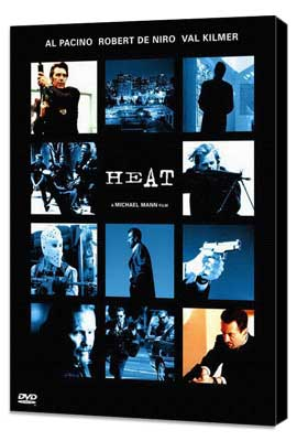 Heat - 11 x 17 Movie Poster - Style E - Museum Wrapped Canvas