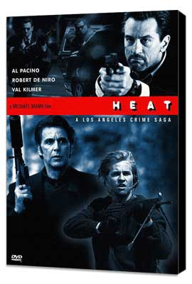 Heat - 27 x 40 Movie Poster - Style C - Museum Wrapped Canvas