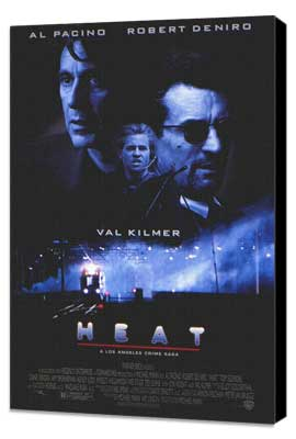 Heat - 27 x 40 Movie Poster - Style E - Museum Wrapped Canvas