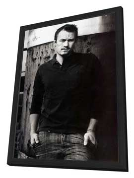 Heath Ledger - 27 x 40 Movie Poster - Style A - in Deluxe Wood Frame