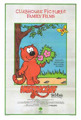 Heathcliff: The Movie - 11 x 17 Movie Poster - Style A