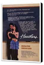 Heathers - 27 x 40 Movie Poster - Style A - Museum Wrapped Canvas