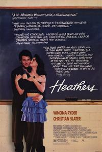 Heathers - 11 x 17 Movie Poster - Style A - Museum Wrapped Canvas