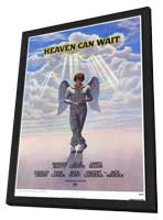 Heaven Can Wait - 27 x 40 Movie Poster - Style A - in Deluxe Wood Frame
