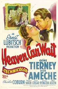 Heaven Can Wait - 43 x 62 Movie Poster - Bus Shelter Style B