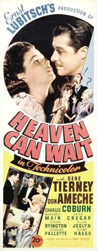 Heaven Can Wait - 14 x 36 Movie Poster - Insert Style A