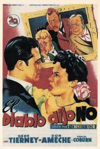 Heaven Can Wait - 11 x 17 Movie Poster - Spanish Style A