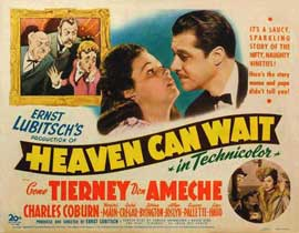 Heaven Can Wait - 11 x 14 Movie Poster - Style C