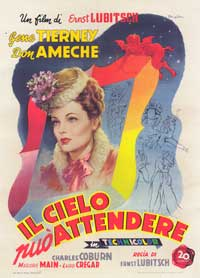 Heaven Can Wait - 27 x 40 Movie Poster - Italian Style A