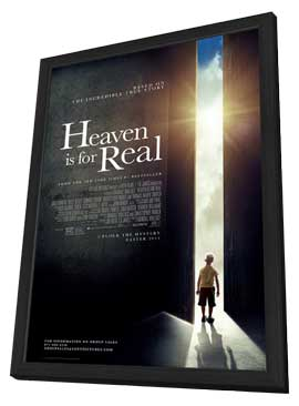 Heaven is for Real - 11 x 17 Movie Poster - Style A - in Deluxe Wood Frame