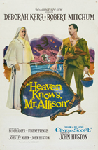 Heaven Knows, Mr. Allison - 11 x 17 Movie Poster - Style B