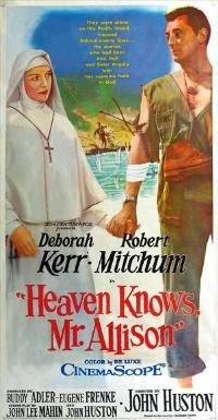 Heaven Knows, Mr. Allison - 11 x 17 Movie Poster - Style A