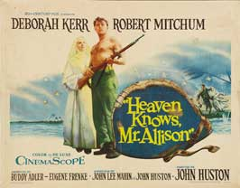 Heaven Knows, Mr. Allison - 22 x 28 Movie Poster - Half Sheet Style A