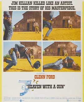 Heaven With a Gun - 11 x 17 Movie Poster - Style B