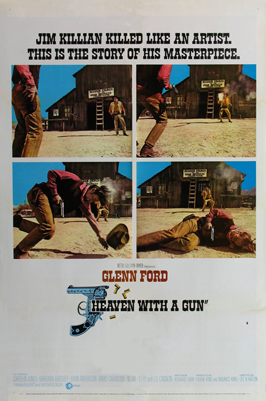 Heaven With a Gun - 27 x 40 Movie Poster - Style C