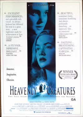 Heavenly Creatures - 11 x 17 Movie Poster - Style C
